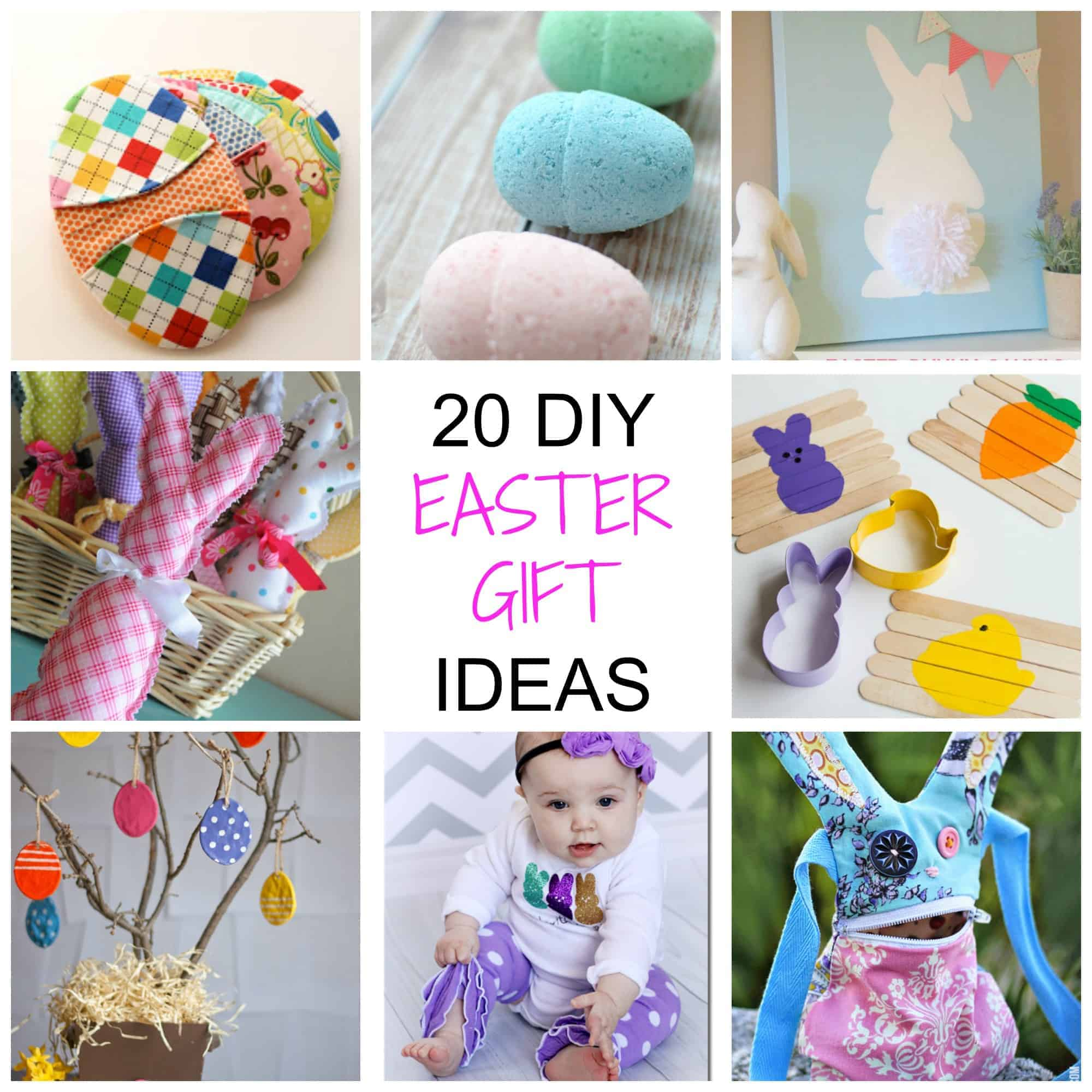 20 Non-Chocolate DIY Easter Gifts